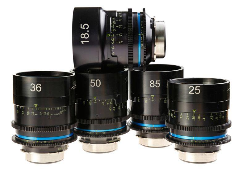 Celere HS – 5 Cine Lens Set