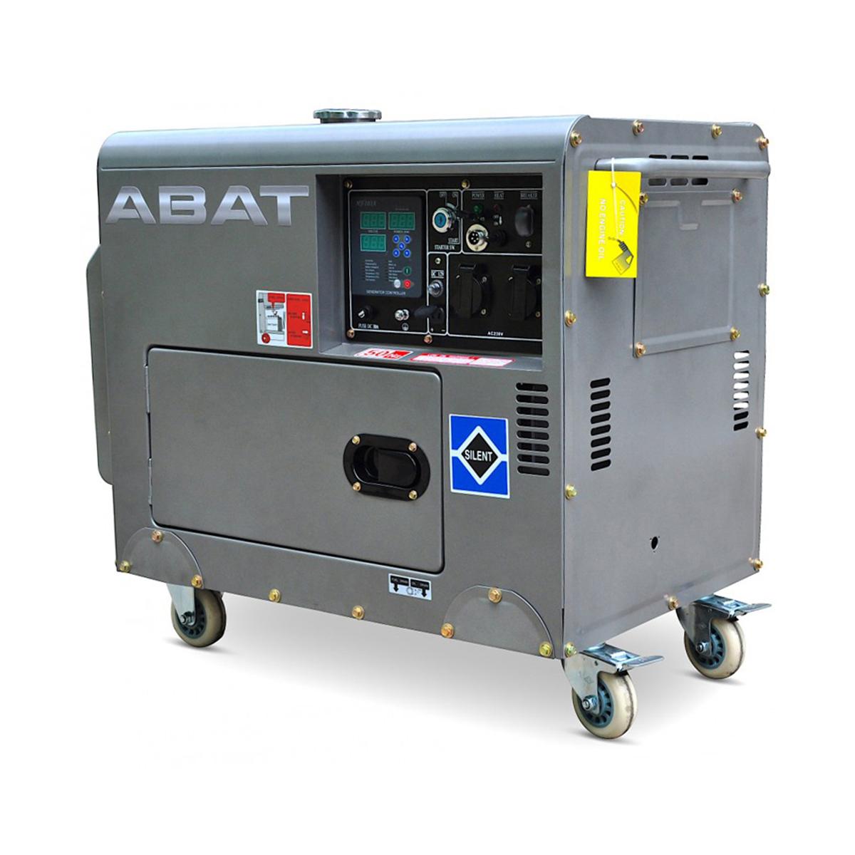 Generator isonorizat monofazat 6 KW