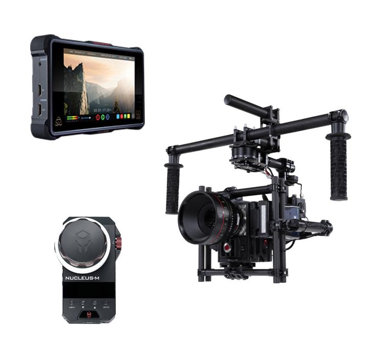 Red Epic Dragon + Movi M15 + Wireless Follow Focus & Monitor + Ready Rig (KIT)
