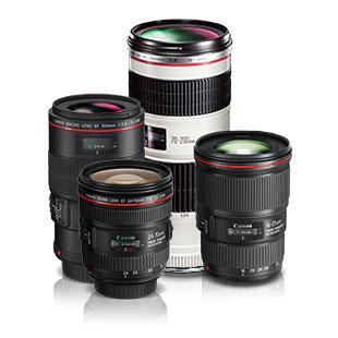 Canon: 24-f1.4 L, 35-f1.4L, 50-f1.2L, 85-f1.8, 70-200-f4L